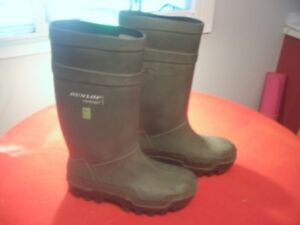 """"""" Steel Towed  Rubber Boots """""""