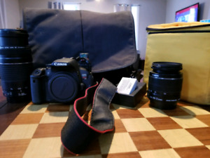 Canon rebel t4i package