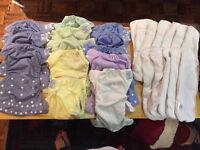Lot de 16 couches lavables
