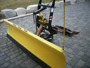 7.5' snow plow fits any Boss RT3 mount new cylinders and hoses