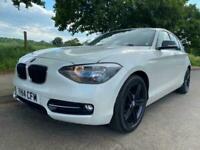 2014 BMW 1 Series 2.0TD (116bhp) 116d Sport (s/s) Sports Hatch 5dr Auto - PEARLE
