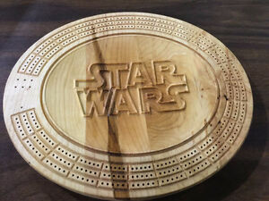 Custom 3D Cribbage Boards 100% Canadian Maple