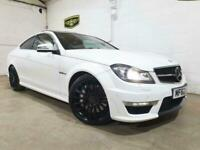 2012 Mercedes-Benz C Class 6.3 C63 AMG MCT 7S 2dr Coupe Petrol Automatic