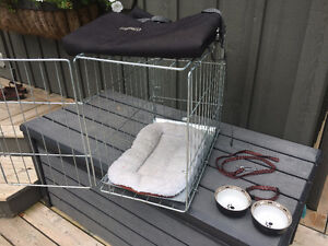 Small Dog Cage & accessories