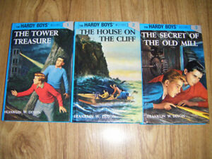 3 Hardy Boys Books for sale