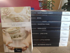 8 books: Classics Collection for sale-Jane Austen and more