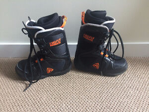 Firefly Snowboard Boots size 22.5 or US4