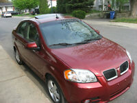 2009 Pontiac G3 Wave SE Berline
