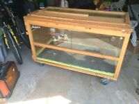 Huge reptile cage