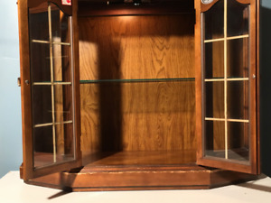 $ 100.  Craftline Small Hutch With Light Inside