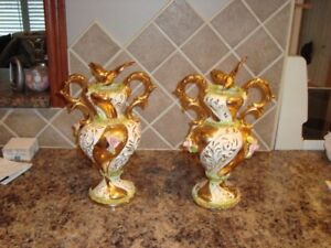2 Le Palma Sesto F Vases made in Italy.