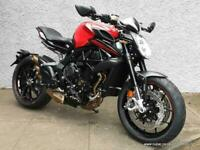 New MV Agusta Dragster Rosso (with quick shifter)