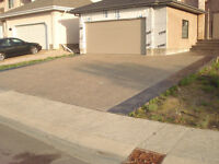Concrete driveways, Stamped,driveways,Exposed Aggregate Driveway