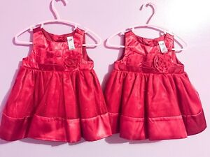 Holiday sparkles babies Dresses 3-6 months