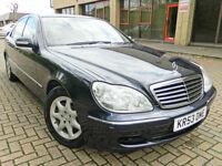 2003 53 Mercedes-Benz S Class 4.3 S430L Limousine 4dr / VERY HIGH SPEC