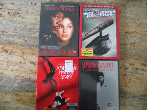 LOT OF FOUR CLASSIC DVDS