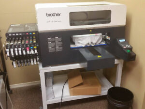 Selling Several Brother DTG-381 Direct To Garment Printers