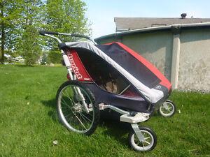 Chariot Cougar double avec suspension