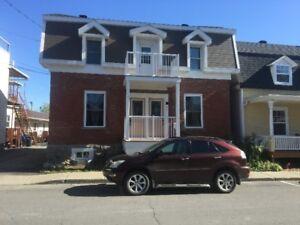 Duplex tous rénové avec grand garage à vendre St-Esprit