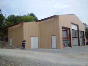 Steel Building Sales and Erecting Services in Thunder Bay