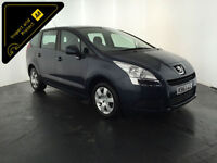 2013 63 PEUGEOT 5008 ACCESS HDI DIESEL MPV 7 SEATER SERVICE HISTORY FINANCE PX