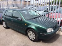 VW GOLF 1.6 WITH 6 MONTHS MOT, DRIVES PERFECT, READY TO GO