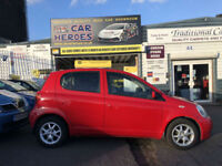 2004 TOYOTA YARIS 1.3 VVT-i AUTOMATIC T SPIRIT 5DR H-BACK (AA)WARRANTED INCLUDED