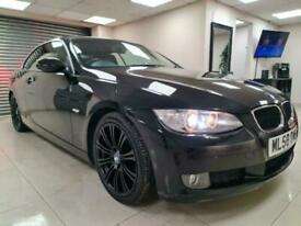 image for BMW 3 Series 2.0 320d SE Black Convertible 174BHP DIESEL WARRANTY 12 MONTHS MOT
