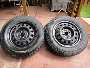 Goodyear Nordic winter tires. 185/65R14