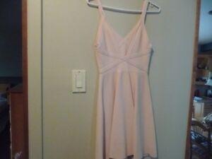 robe couleur saumon