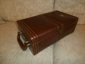 Leather like Wine Case, perfect condition
