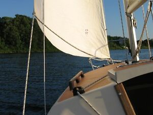 Daysailer for Sale. Diller Schwill 16 ft, with shoal keel