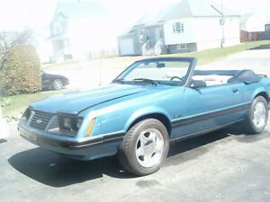 1983 Ford Mustang glx Cabriolet