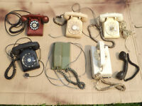 Old Rotary Phones & Accessories