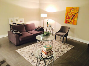 Fully Furnished Gorgeous 1 Bedroom Condo in Downtown Saskatoon
