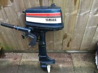 Two Yamaha outboard engines