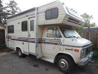 1987 Citation Class C, $4,000 in new parts