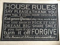Next House Rules Children's Rug