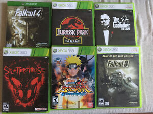 Xbox 360 and Xbox one games for Sale or trade