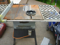 Rockwell Beaver Large Table Saw