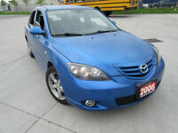 2006 Mazda Mazda3  Automatic, Up to 4 years warranty. Certified.