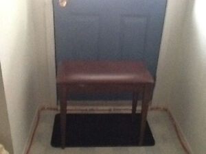 Piano bench or hall bench