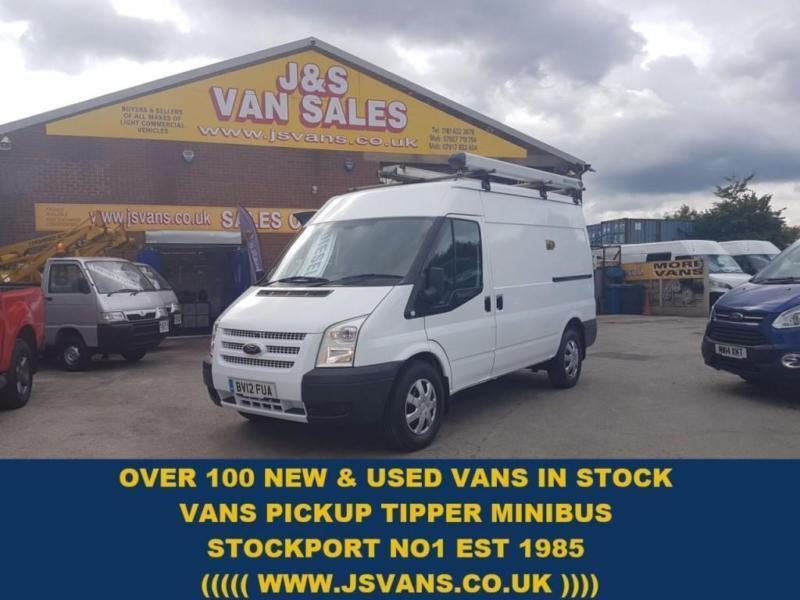 2012 12 FORD TRANSIT M.W.B /MED ROOF T350 125 BHP 1 OWNER + AIR CON