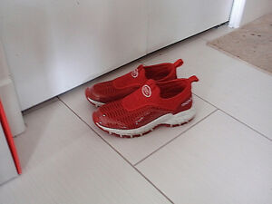 Woman slip-on shoes (red)