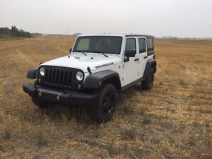 2016 Jeep Wrangler Limited REDUCED