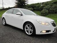 2011 Vauxhall Insignia 2.0CDTi 16V SRI **WHITE **LOW MILES **160BHP**