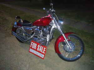 1996 custom 1200  HD sportster