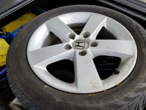 HONDA CIVIC Rims and tires 16s OE