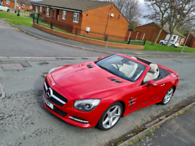 FOR SALE SWAP PX 2014 MERCEDES SL350 AMG SPORT CONVERTIBLE