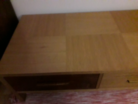 Lovely, solid TV cabinet, 2 drawers and 2 small cabinets same range